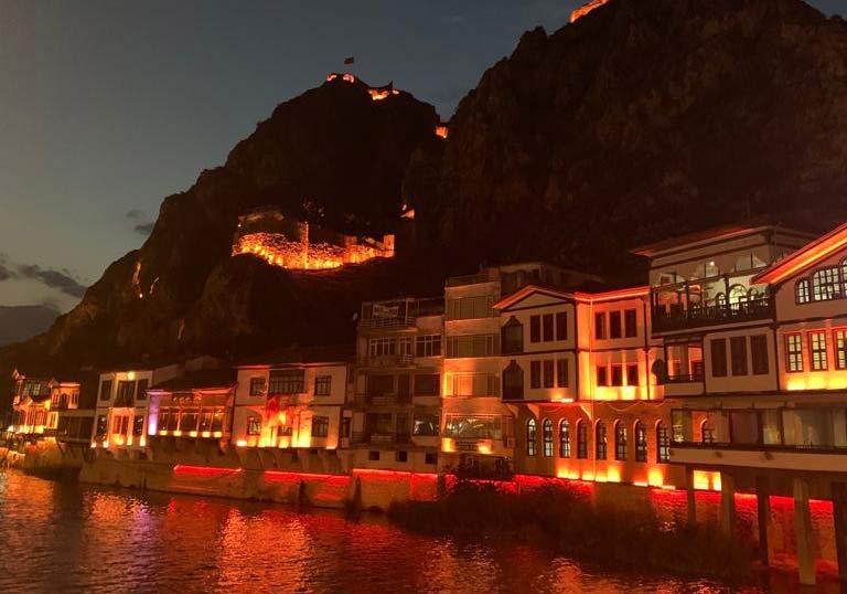 Amasya City river front